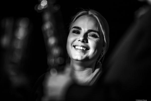 Viktorija Pilatovic (2018) at Jimmy Glass Jazz Club. Valencia.