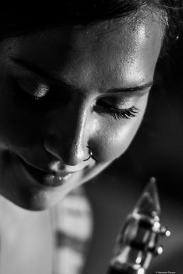 Virginia Frigault-MacDonald (2018) at Jimmy Glass Jazz Club. Valencia.