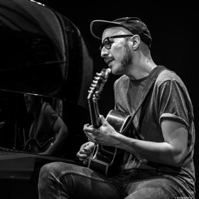 Virxilio da Silva at Festival de Jazz MVA de Málaga 2018.