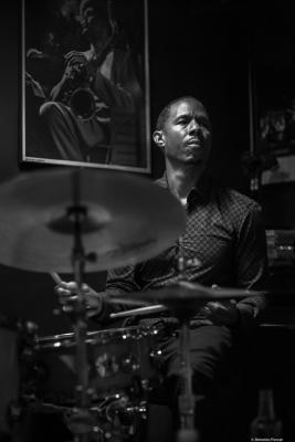 Willie Jones III (2019) at Jimmy Glass Jazz Club. Valencia.