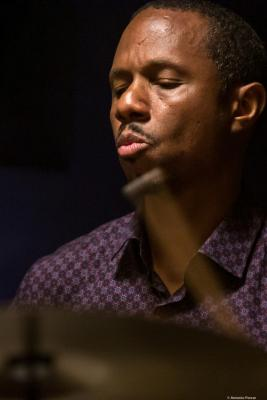 Willie Jones III (2019) at Jimmy Glass Jazz Club. Valencia.