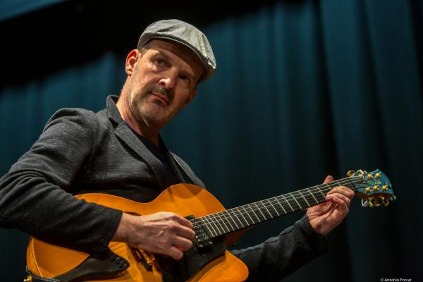 Wolfgang Muthspiel at MVA Jazz Festival, 2019. Málaga.