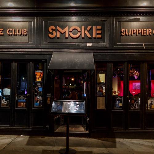 Smoke jazz club, NY