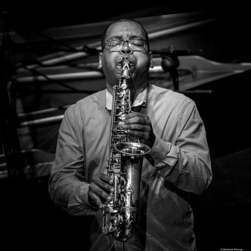 Roman Filiu (2016) in Jimmy Glass Jazz Club. Valencia.