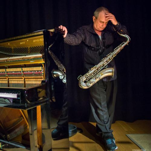 George Garzone (2017) at Café Mercedes Jazz Club. Valencia.