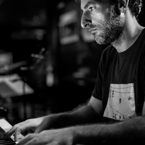 Amadeo Moscardó (2015) in Jimmy Glass Jazz Club. Valencia