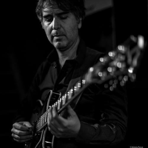 Hugo Fernández (2017) at Jimmy Glass Jazz Club. Valencia.