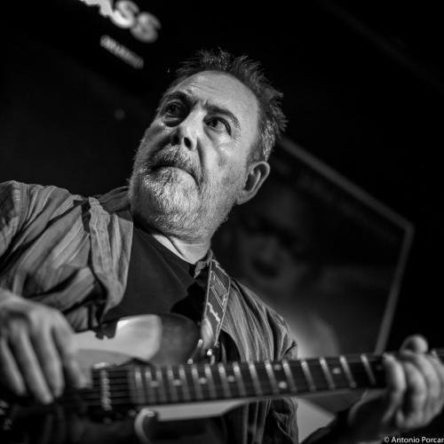 Manuel Hamerlinck (2015) in Jimmy Glass Jazz Club. Valencia.