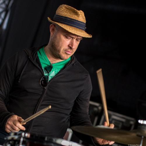 Ben Perowsky in Getxo Jazz 2016