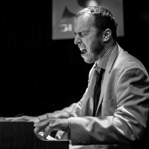 Jakub Zomer (2016) in Reduta Jazz Club. Prague.