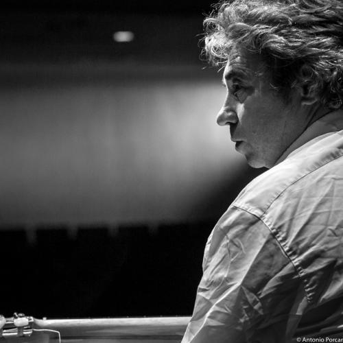 Nono García in Jazz Eñe 2015. Teatro Rialto. Valencia.