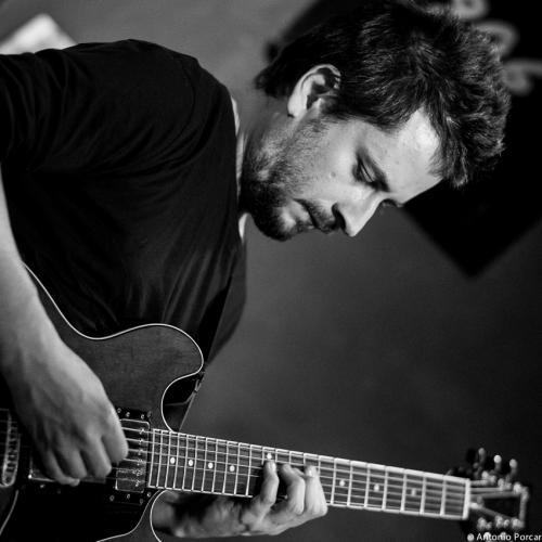 Andre Fernandes (2015) en Jimmy Glass Jazz Club. Valencia.