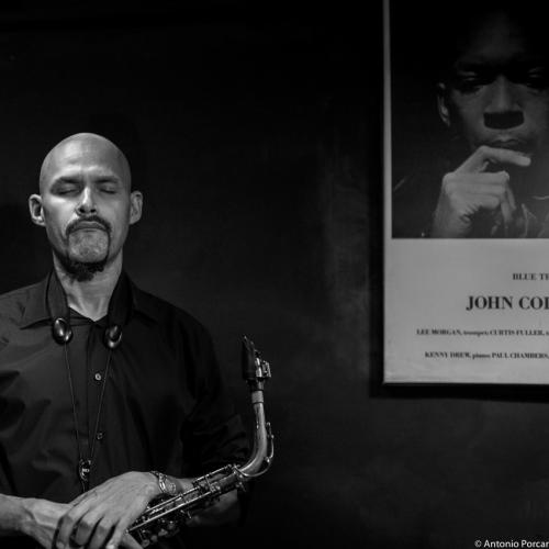 Miguel Zenón (2015) in Jimmy Glass Jazz Club. Valencia.