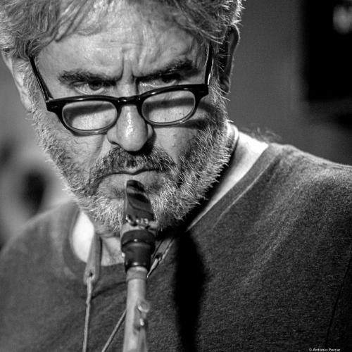 Tim Berne (2016) in Jimmy Glass Jazz Club. Valencia