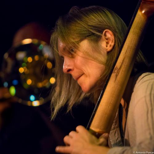 Anne Mette Iversen (2015) in Jimmy Glass Jazz Club. Valencia