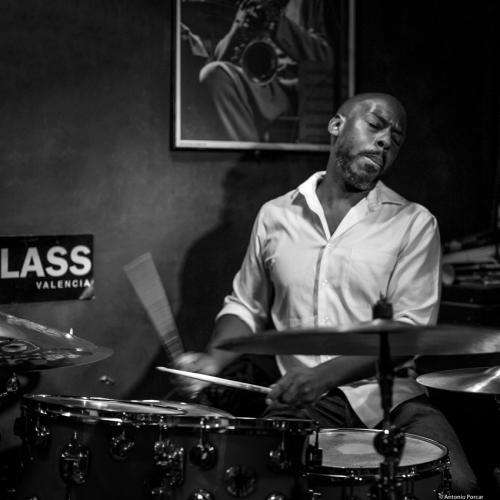 E. J. Strickland (2017) at Jimmy Glass Jazz Club. Valencia.