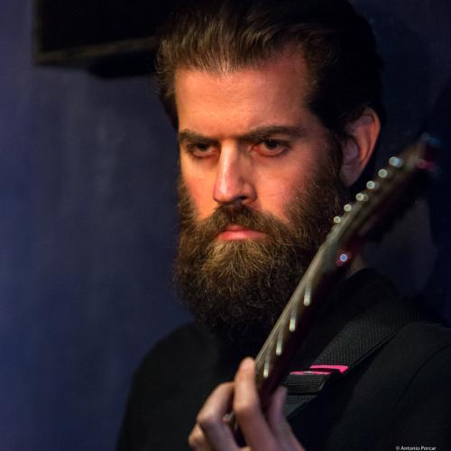 Ran Ferreira (2016) in Jimmy Glass Jazz Club. Valencia.