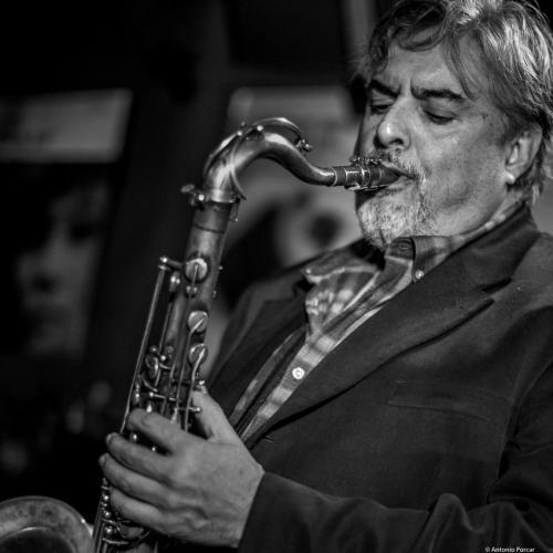 Tony Malaby (2017) at Jimmy Glass Jazz Club. Valencia.
