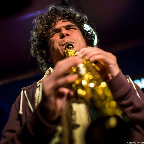 Antonio Lizana (2015) in Jimmy Glass Jazz Club. Valencia.