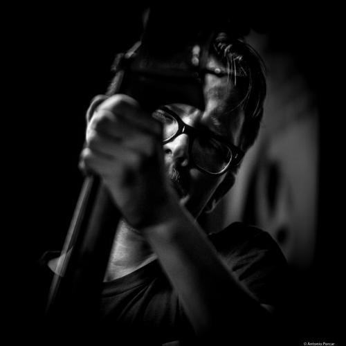 Eivind Opsvik (2017) at Jimmy Glass Jazz Club. Valencia.