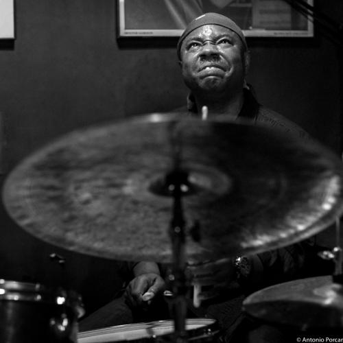 Lenny White (2015) in Jimmy Glass Jazz Club. Valencia.