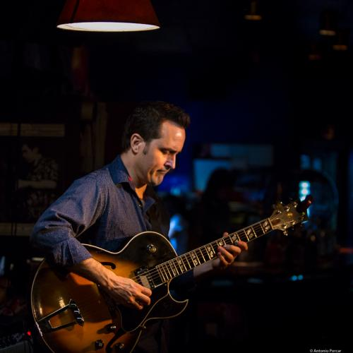 Jonathan Kreisberg (2017) at Jimmy Glass Jazz Club. Valencia.