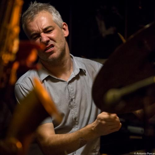 Fred Pasqua (2015) in Jimmy Glass Jazz Club. Valencia