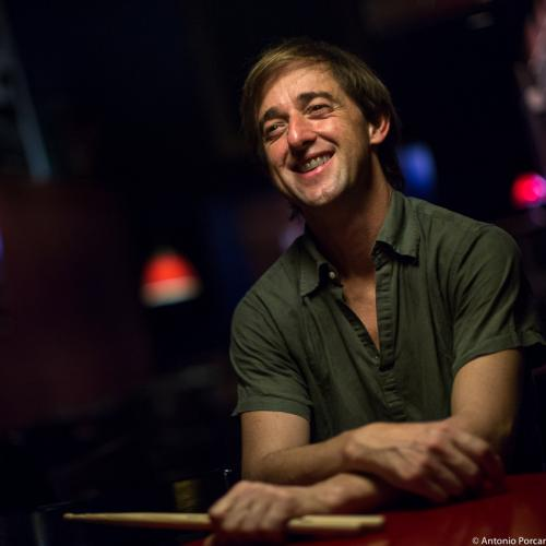 Marc Miralta (2015) in Jimmy Glass Jazz Club. Valencia.