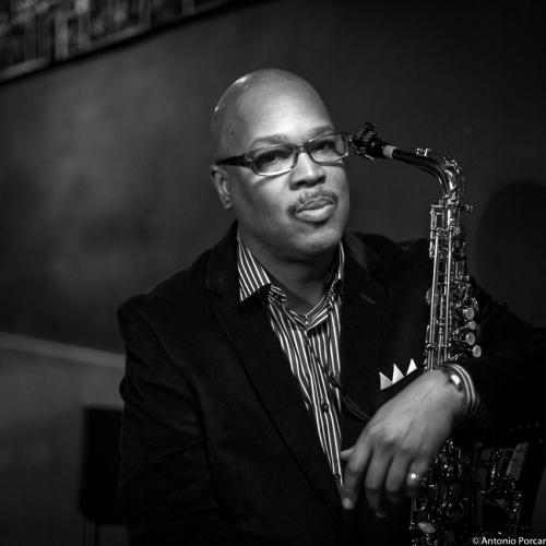 Greg Osby (2015) in Jimmy Glass Jazz Club. Valencia