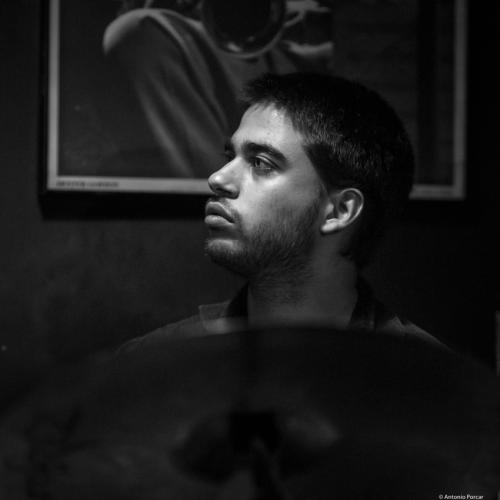 João Lopes Pereira (2017) in Jimmy Glass Jazz Club. Valencia