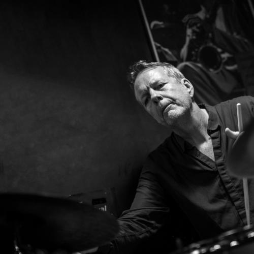 Tom Rainey (2016) in Jimmy Glass Jazz Club. Valencia.