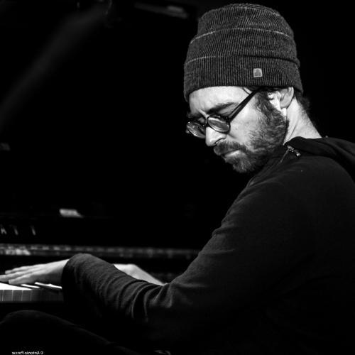 Aaron Parks (2019) in Jimmy Glass Jazz Club, Valencia.