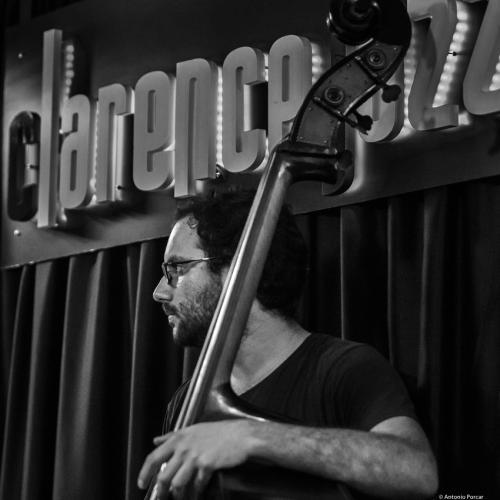 Alejandro Tamayo (2018) at Clarence Jazz Club. Málaga.
