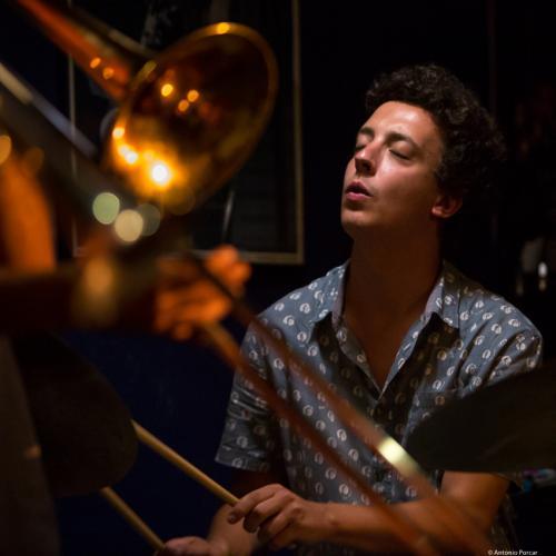 Andreu Pitarch (2018) at Jimmy Glass Jazz Club. Valencia.