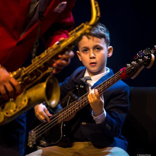 Aron Hodek at Jazzinec 2018. Trutnov
