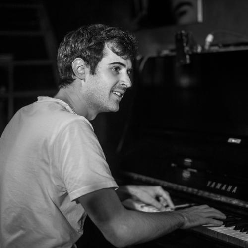 Baptiste Bailly in Jimmy Glass Jazz Club. Valencia.