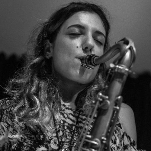 Clara Juan Soler (2017) at Café Mercedes Jazz Club. Valencia.