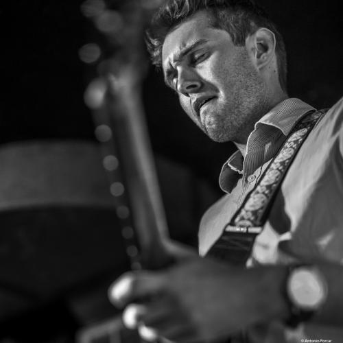 Clay Nordhill at Wally's Cafe Jazz Club. Boston, 2018.