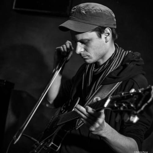 Dave Gisler (2018) at Jimmy Glass Jazz Club. Valencia.