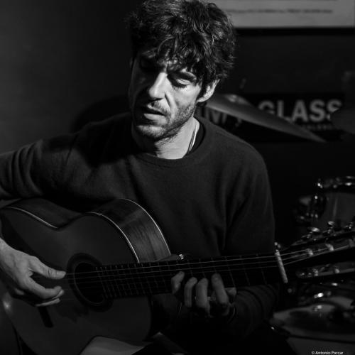 Diego Barber (2019) at Jimmy Glass Jazz Club. Valencia.