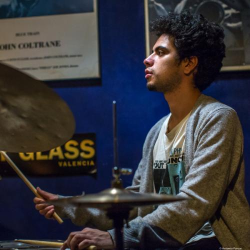 Diego Joaquín Ramírez (2017) at Jimmy Glass Jazz Club. Valencia