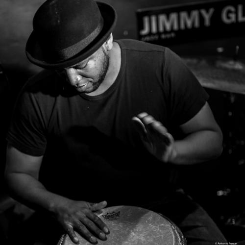 Eliel Lazo (2017) in Jimmy Glass Jazz Club. Valencia.