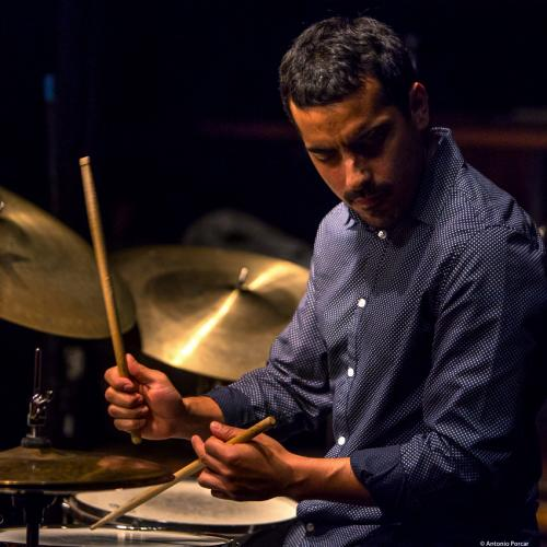 Félix Lecaros (2018) at Thelonious Jazz Club. Santiago de Chile.