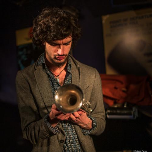 Félix Rossy (2019) at Jimmy Glass Jazz Club. Valencia.