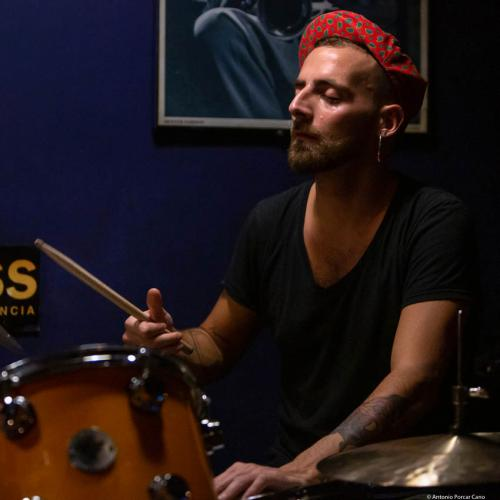Francesco Ciniglio (2019) at Jimmy Glass Jazz Club. Valencia.