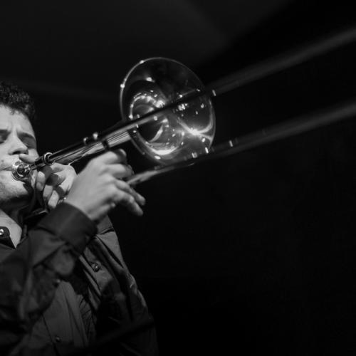 George Francis Marti (2017) at Café Mercedes Jazz Club. Valencia.