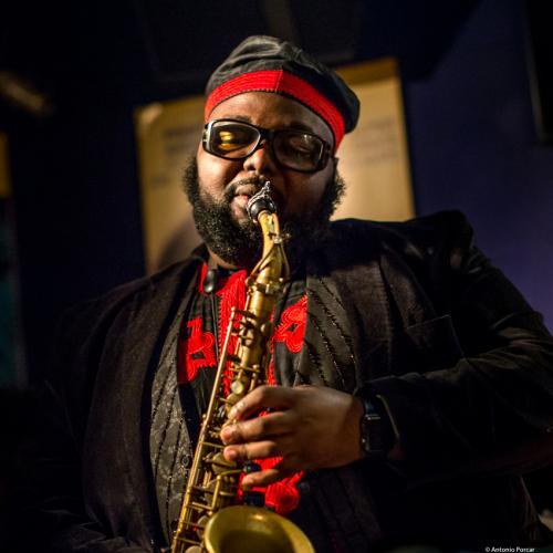 Godwind Louis (2017) at Jimmy Glass Jazz Club. Valencia.