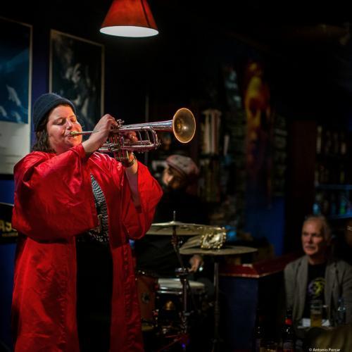 Jaimie Breezy Branch (2019) at Jimmy Glass Jazz Club. Valencia.