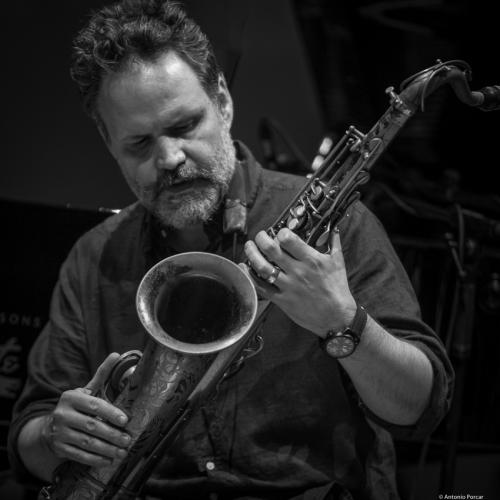 Jason Rigby at Festival de Jazz de Valencia 2017.