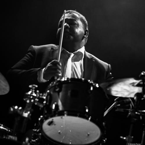 Jean Pierre Derouard at Festival de Jazz de Santander, 2021.